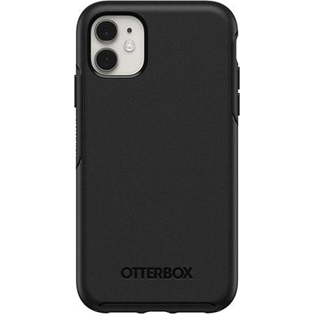 כיסוי iPhone 11 שחור OtterBox Symmetry