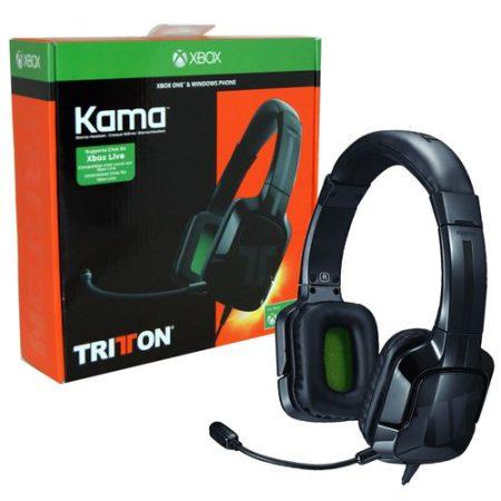 אוזניות + מיקרופון גיימינג לKAMA Triton לXBOX