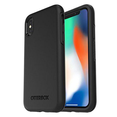 כיסוי אייפון X שחור OtterBox Symmetry