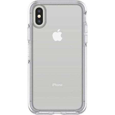 כיסוי אייפון X שקוף OtterBox Symmetry